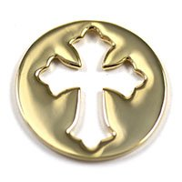 South Hill Designs gold cross screen