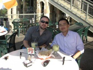 Mike Dillard and Jerry Chen @ Oasis