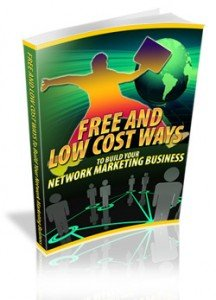 Free And Low Cost Ways To Build MLM