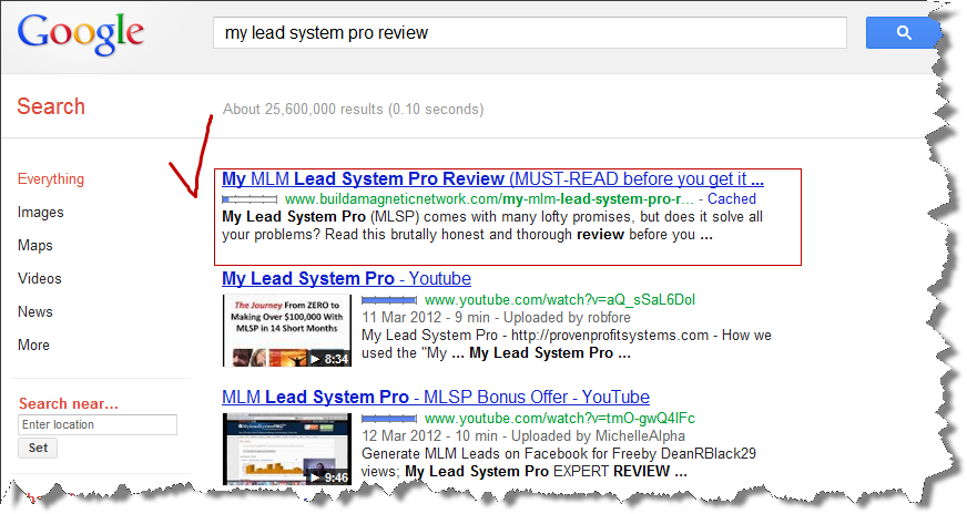 Top rankings thanks to Automatic Backlink Creator