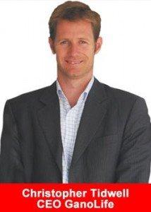 Ganolife cofounder Chris Tidwell