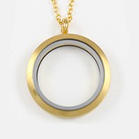 South Hill Designs large gold locket